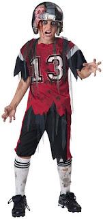 Boys Dead Zone Zombie Child Costume for Halloween