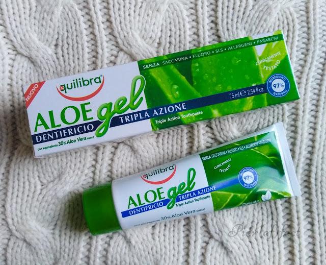Equilibra Aloe gel dentifricio tripla azione