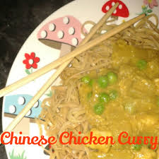 Slow cooker Chinese chicken curry fakeaway