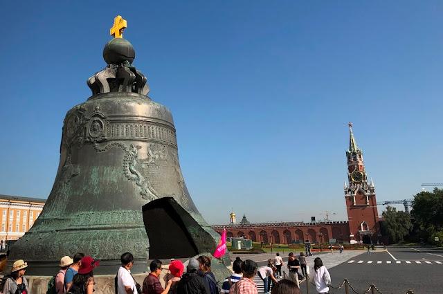 Sino de Czar e Torre do Salvador (Spasskaya)