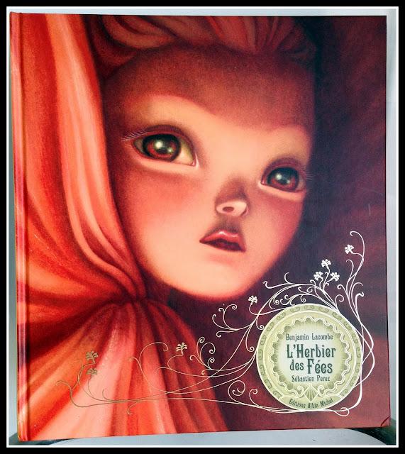 """couverture du livre """"l'herbier des fées"""""""