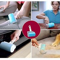 Rouleau anti poils lavable et réutilisable