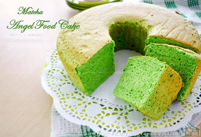 Citras home diary matcha green tea angel food cake recipe selam everybody forumfinder Gallery