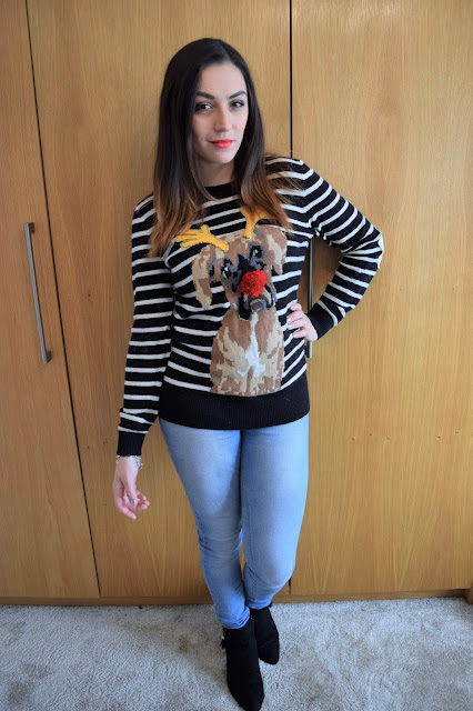 What Cat Wore   Crafting a Christmas Jumper