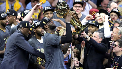 cleveland cavaliers win the 2016 NBA championship