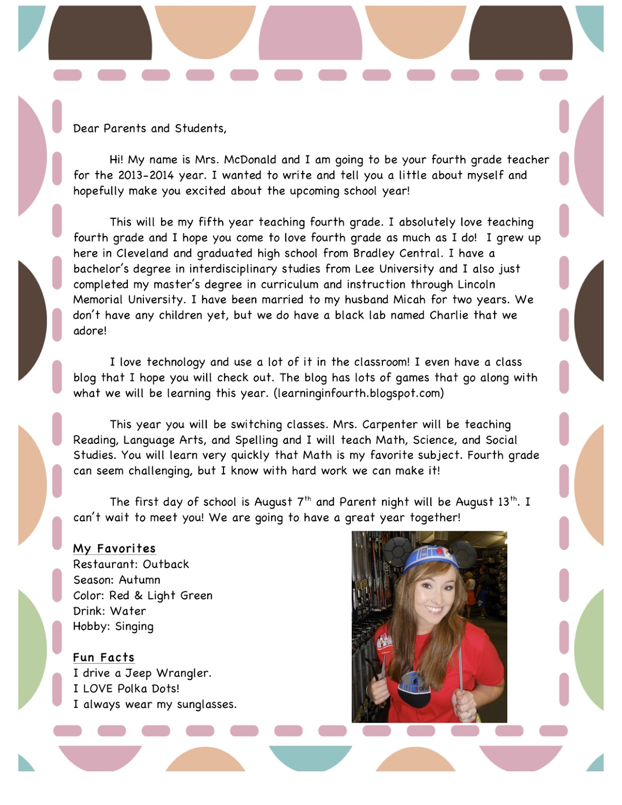 letter to parents template from teachers - parent letter from teacher levelings
