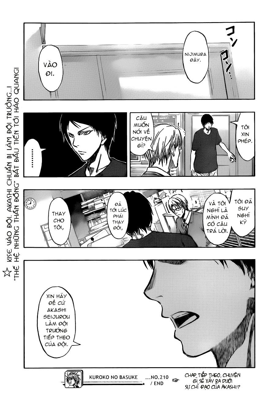 Kuroko No Basket chap 210 trang 19