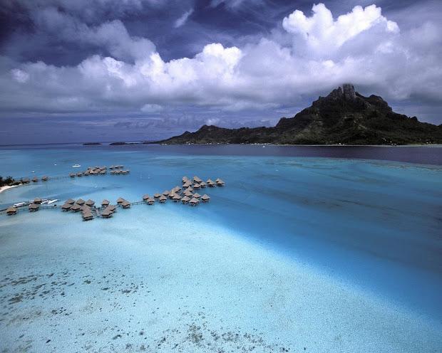 Bora Bora Sunset French Polynesia