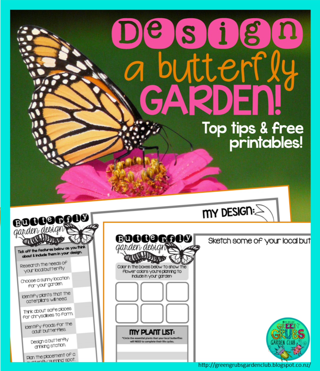 Design A Butterfly Garden Guest Post By Rosie Green