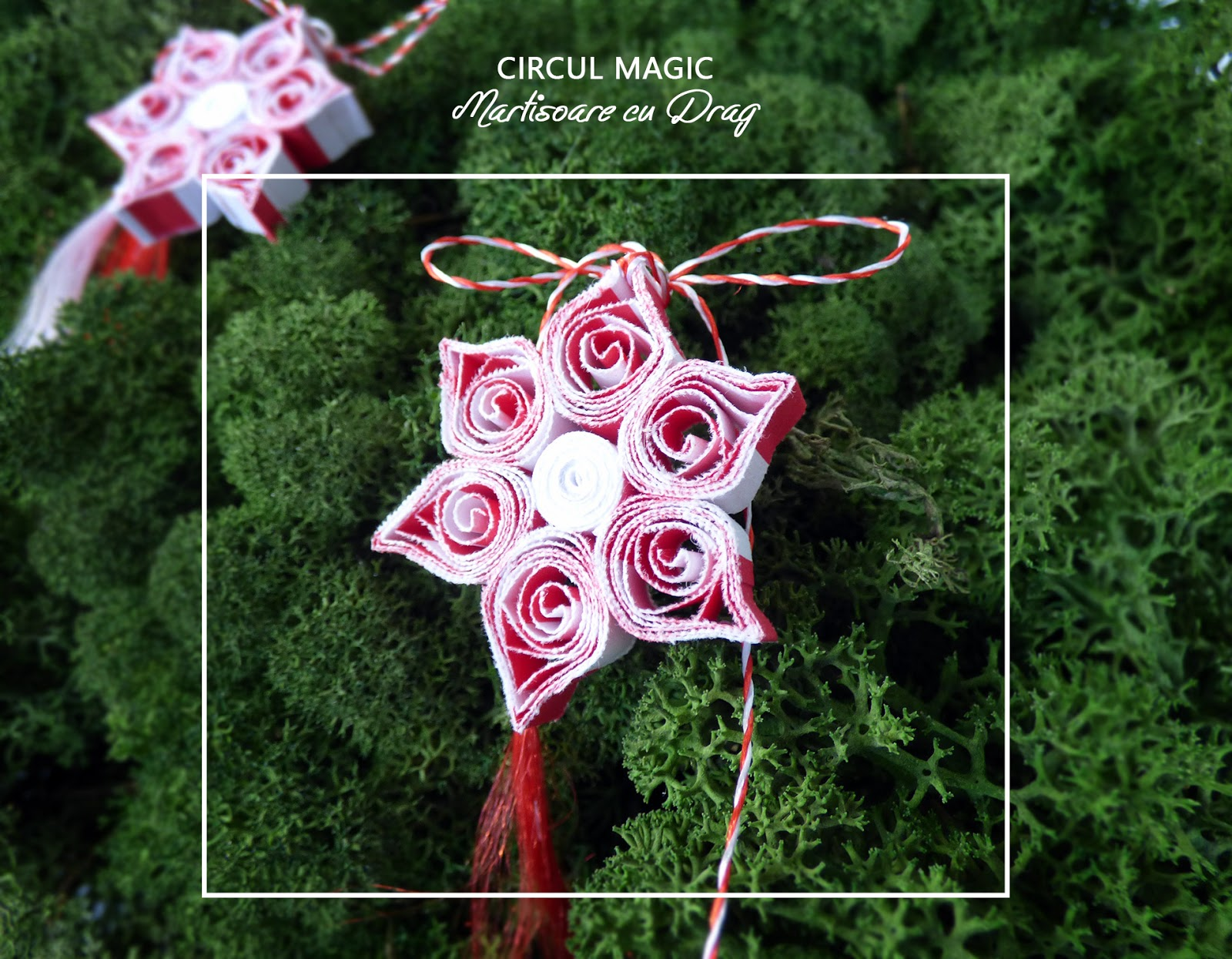 Circul Magic - Martisoare Quilling 2017 - Floare de cires