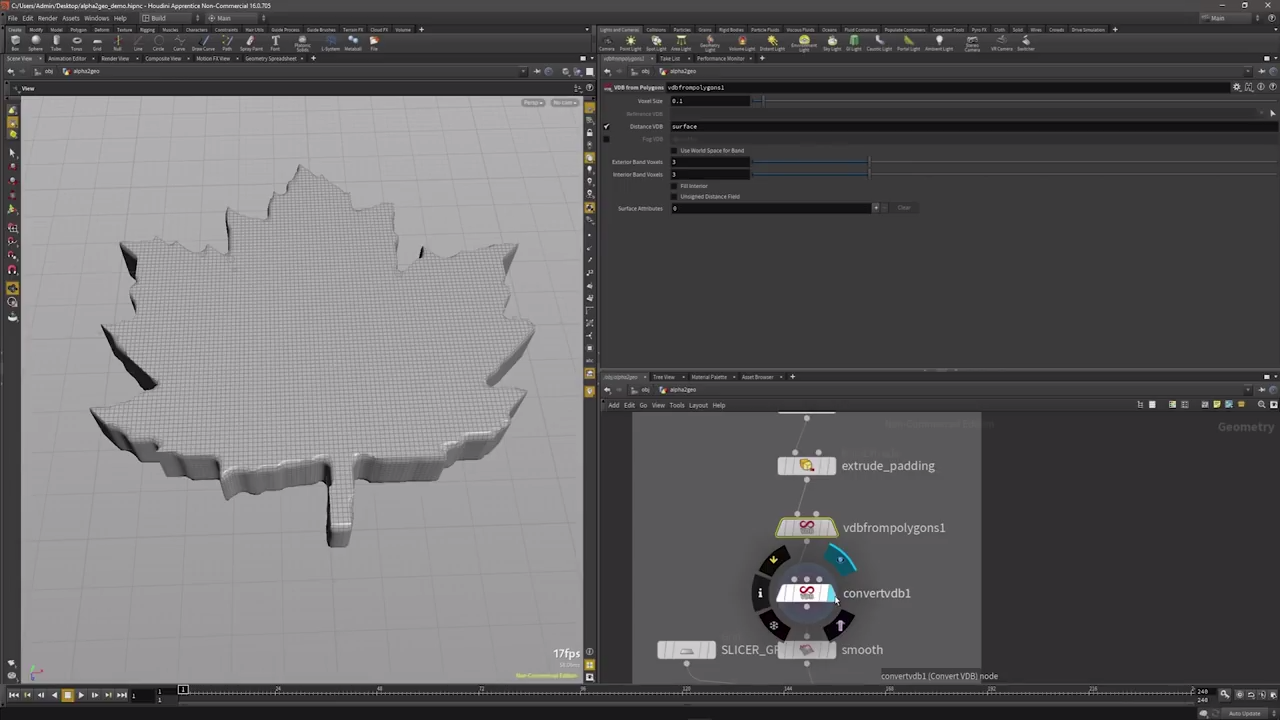 Generating Geometry Procedurally from Megascans in Houdini | CG TUTORIAL