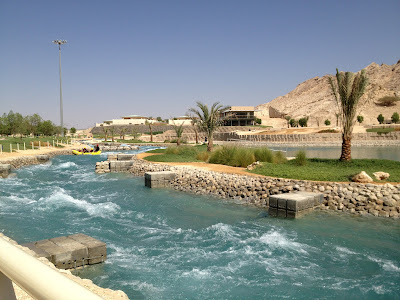 Wadi Adventure water current