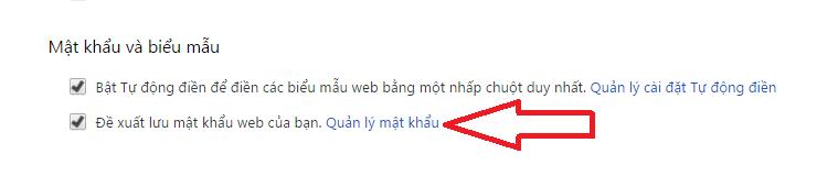 Cách xem lại mật khẩu đã lưu trên Chrome, Cốc Cốc