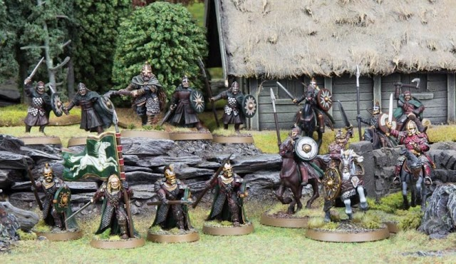 Previews for the Forces of Good in Middle Earth