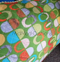 MidMod Couch Cushions - a GULLKLOCKA and IDASOFIA IKEA hack