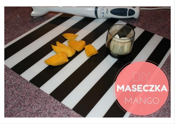 DIY upiększająca maseczka z Mango