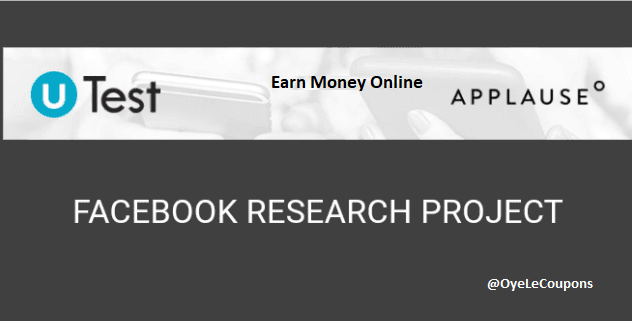 (Loot)Applause Facebook Research App: Refer And Earn FREE Monthly $75 in Your Account