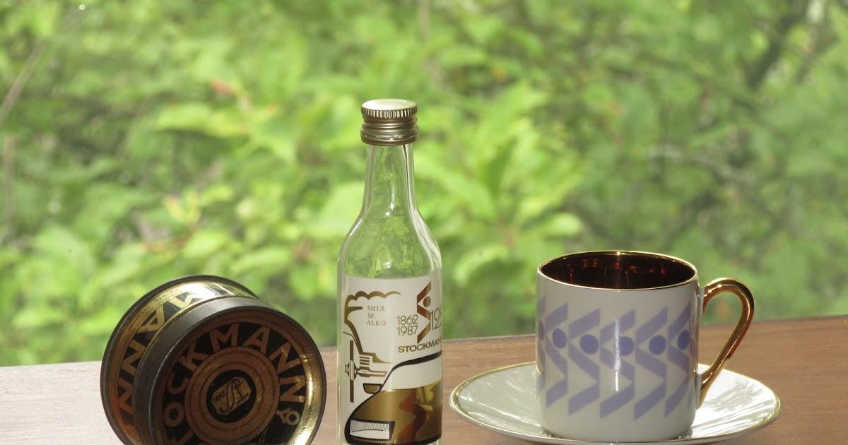 Lasinkeräilijän Blogi: Stockmann 125 vuotta –miniatyyrijuhlapullo