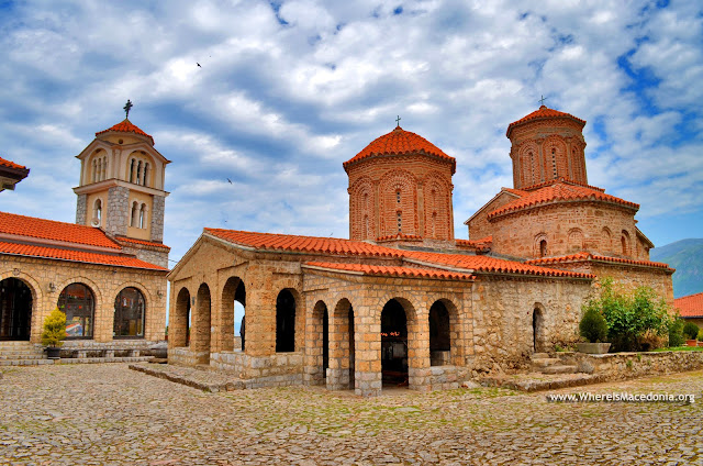 St. Naum (Св. Наум), Ohrid, Macedonia - Monastery on Ohrid Lake