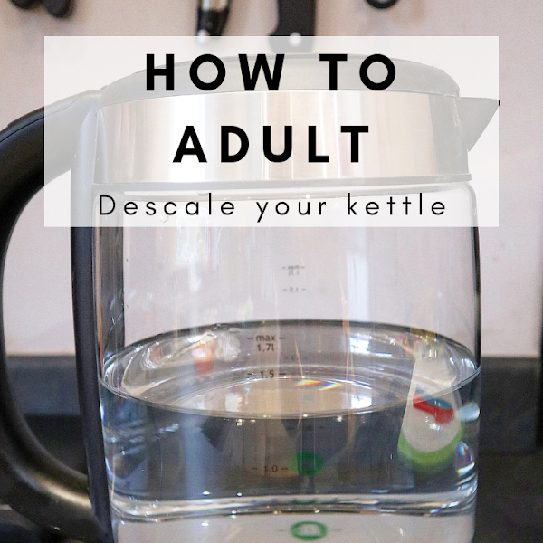 How To Adult: Descale Your Kettle