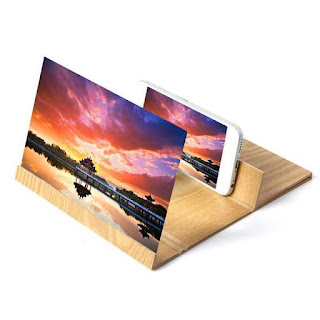 Wooden 3D Smartphone Magnifier Screen