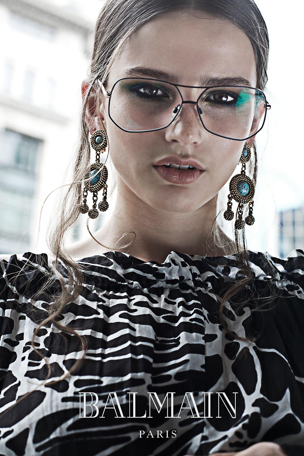 Nicole Ku | Nicrific Balmain Eyewear