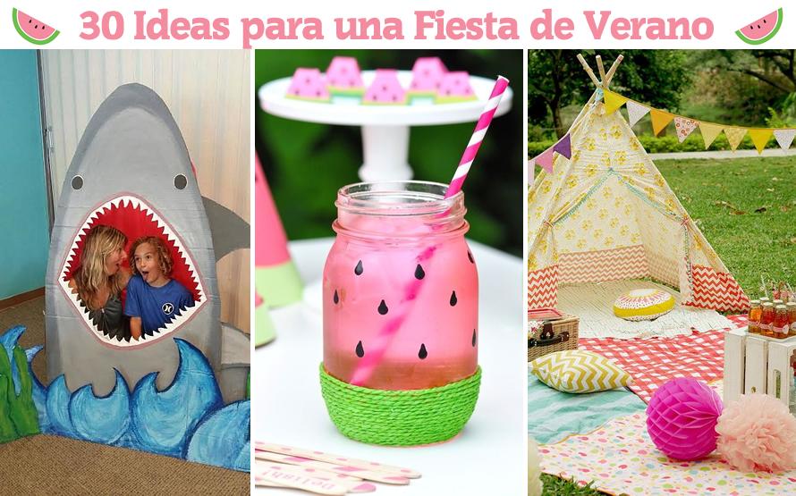 30 ideas asombrosas para una fiesta de verano m s chicos - 30 cumpleanos ideas ...