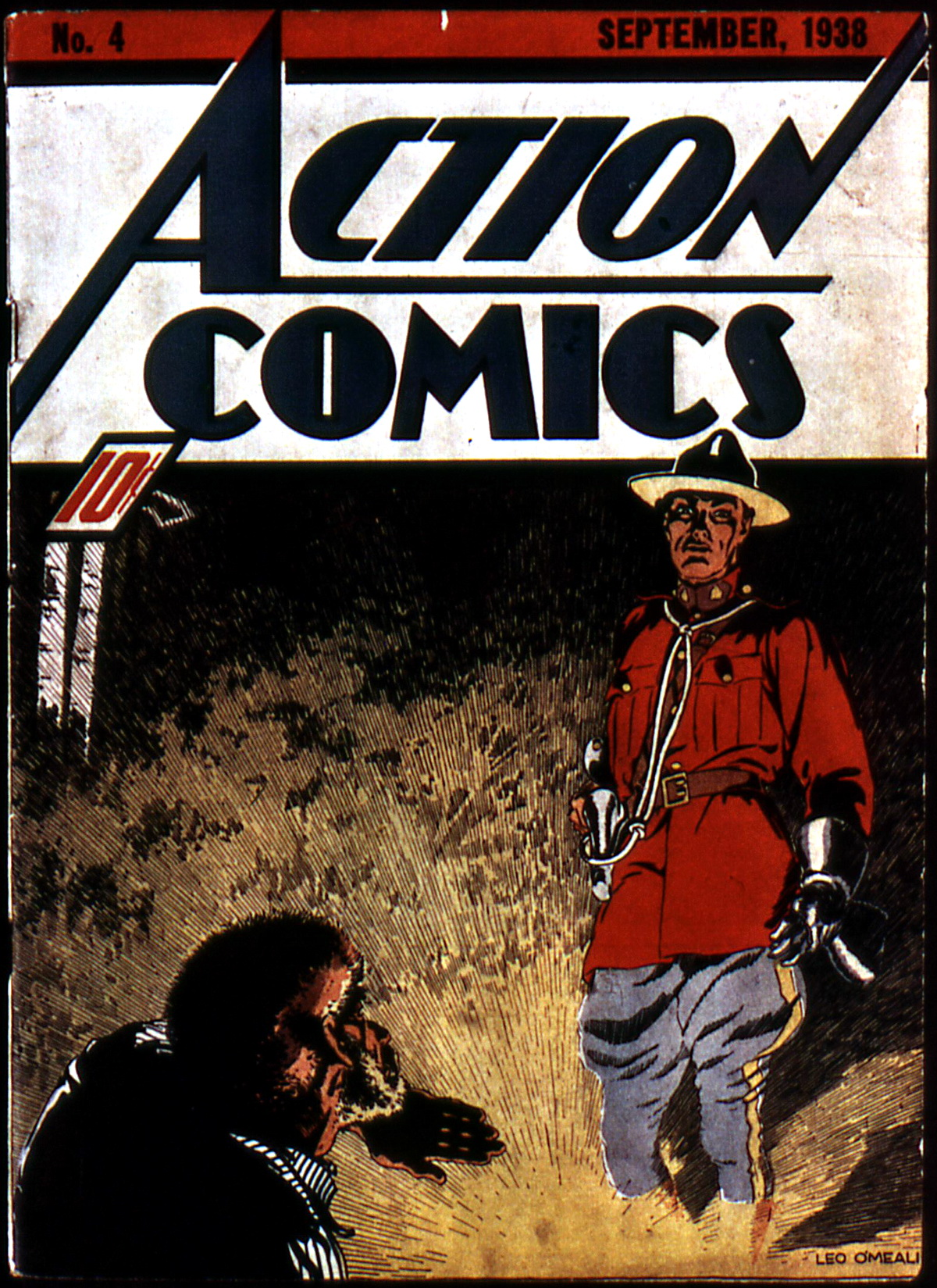 Read online Action Comics (1938) comic -  Issue #4 - 1