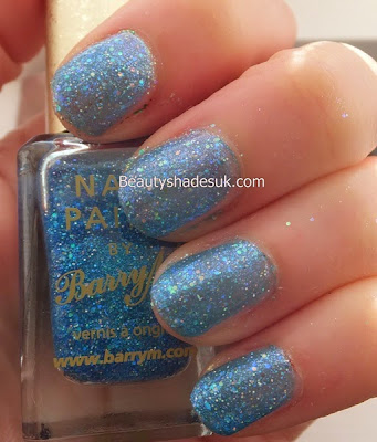 Barry M Glitterati-  VIP Glitter Nail Polish Swatch