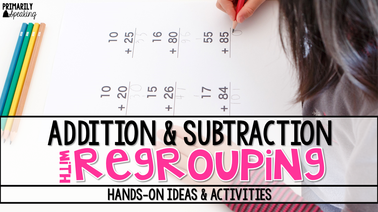 image about Subtraction With Regrouping Games Printable identify Addition Subtraction with Regrouping Designs Actions