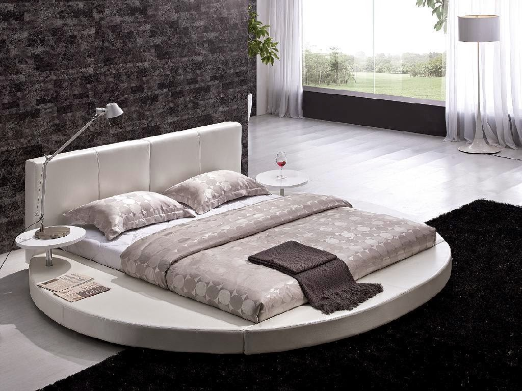 Les plus beaux lits du monde en image for Round bed interior design