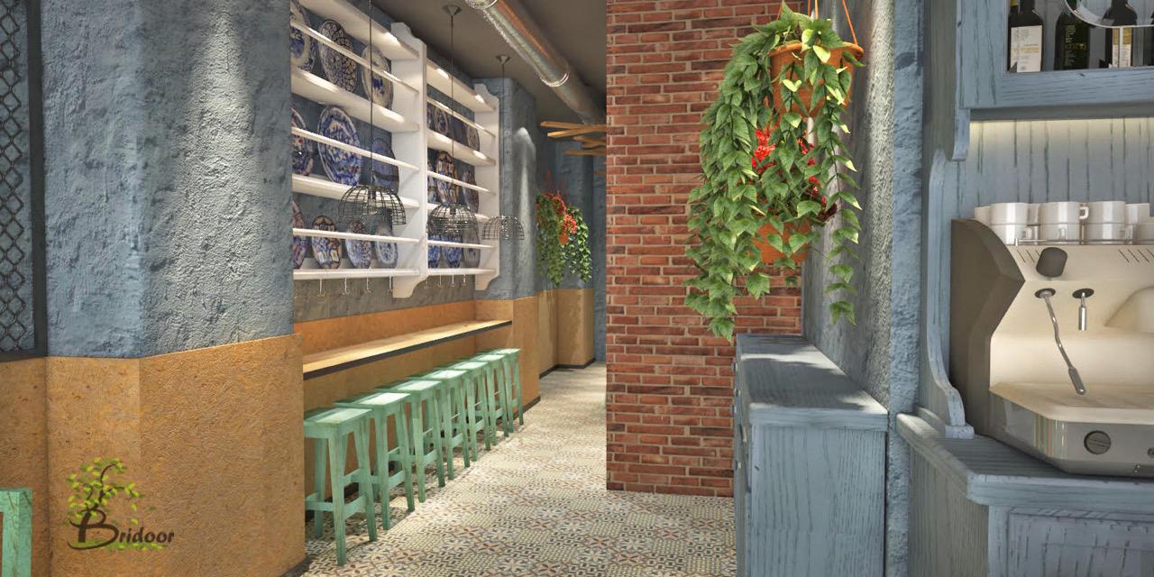 Bridoor s l restaurante tortillas recien hechas la - Panelados para paredes ...