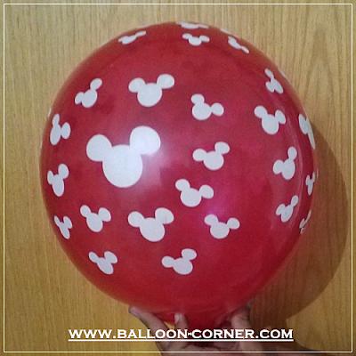 Balon Latex Print Mickey Mouse (MURAH)