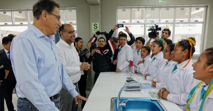 MINEDU inauguró nueva infraestructura del colegio N° 8190 «Sol Naciente» para más de mil estudiantes de Carabayllo - www.minedu.gob.pe