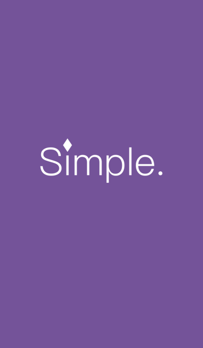 Simple(edo purple)