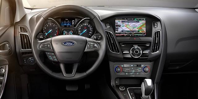 Novo Ford Focus 2017 - interior - painel