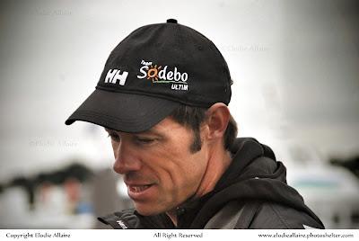 Thomas Coville et Sodebo bientot sur le départ du Tour du Monde en solo