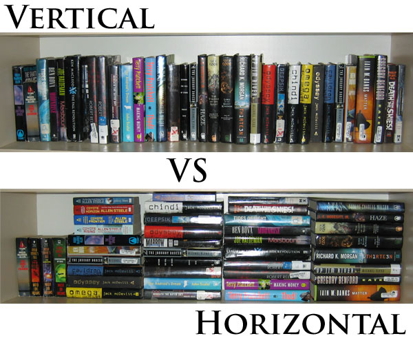 Vertical Versus Horizontal Stacking