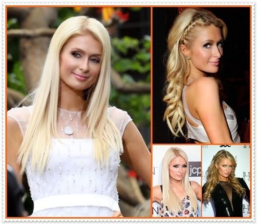 Paris Hilton Haare 2014