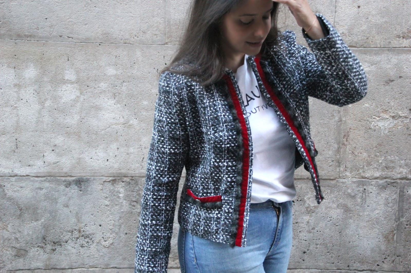 a8895a1ae705 DIY Costura y patrones: Chaqueta de mujer     Oh, Mother Mine DIY!!