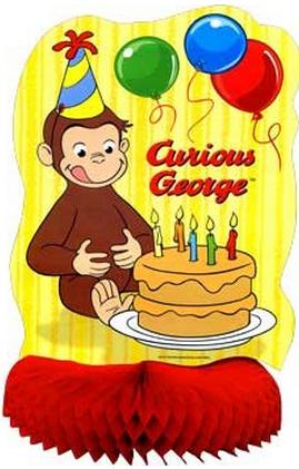 curious george birthday