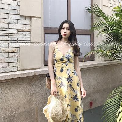 Shop ban vay maxi di bien tai Nhan Chinh