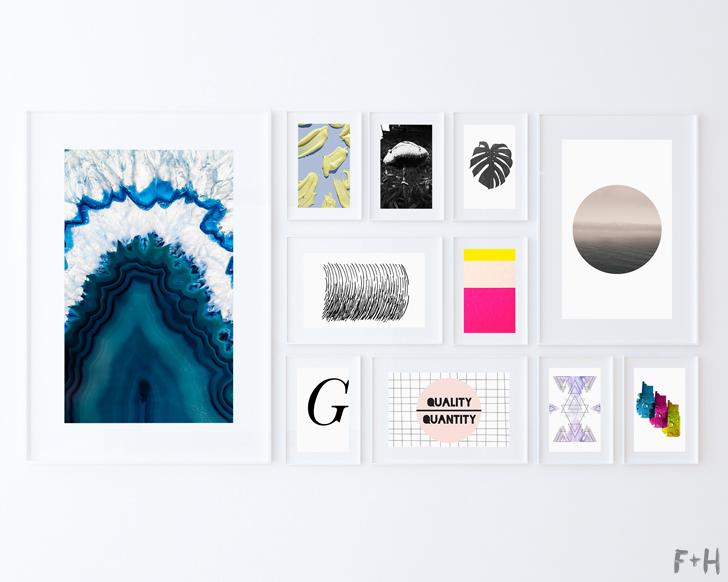 free modern art print