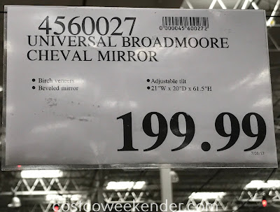 Deal for the Universal Broadmoore Ellison Cheval Mirror at Costco
