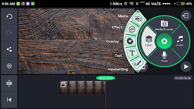 Green KineMaster Pro New Version Free Dwonload For Mobile 2018