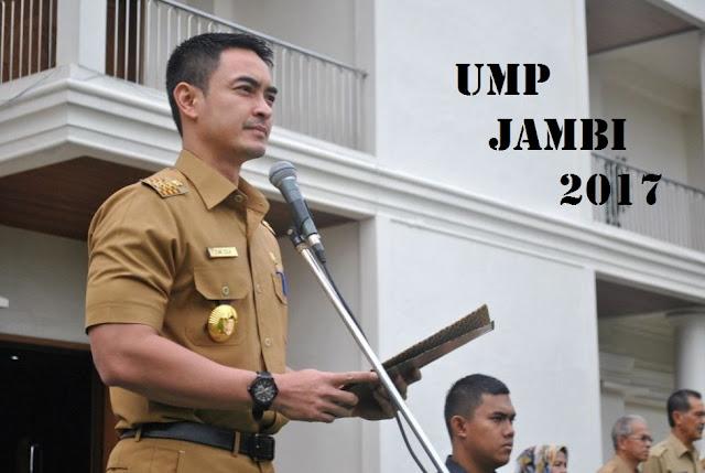 UMP JAMBI 2017 Terbaru Naik Delapan Persen