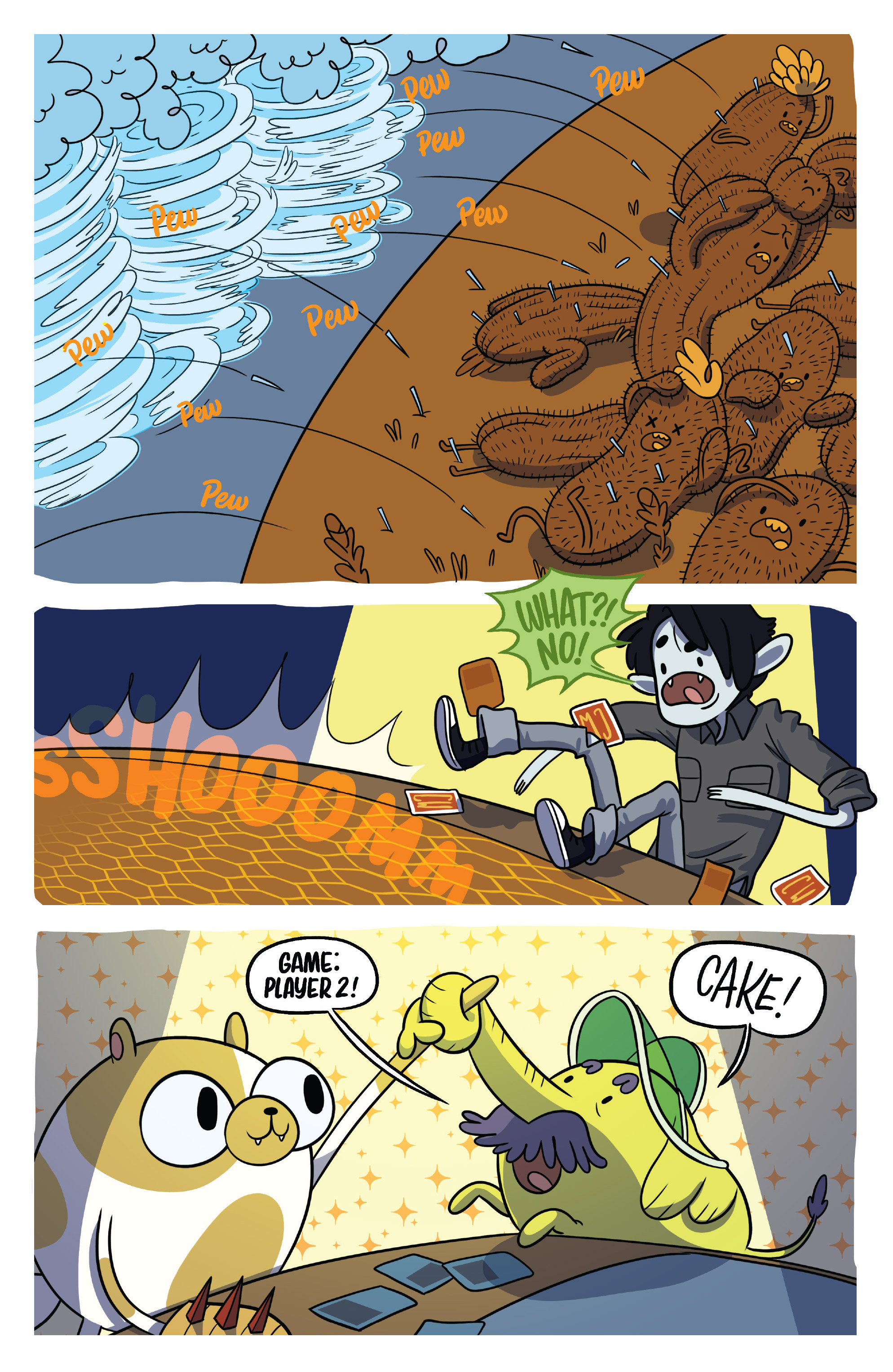 Read online Adventure Time Fionna and Cake Card Wars comic -  Issue #5 - 19