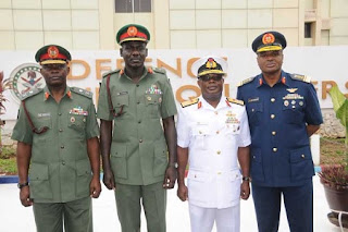 Honouring Service Chiefs with national honours as seal of performance index