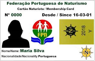 Cartão Naturista