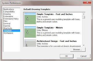 TUTORIAL How to Change Sketchup Templates